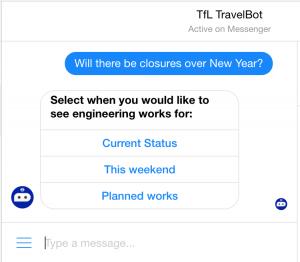 TFL TravelBot
